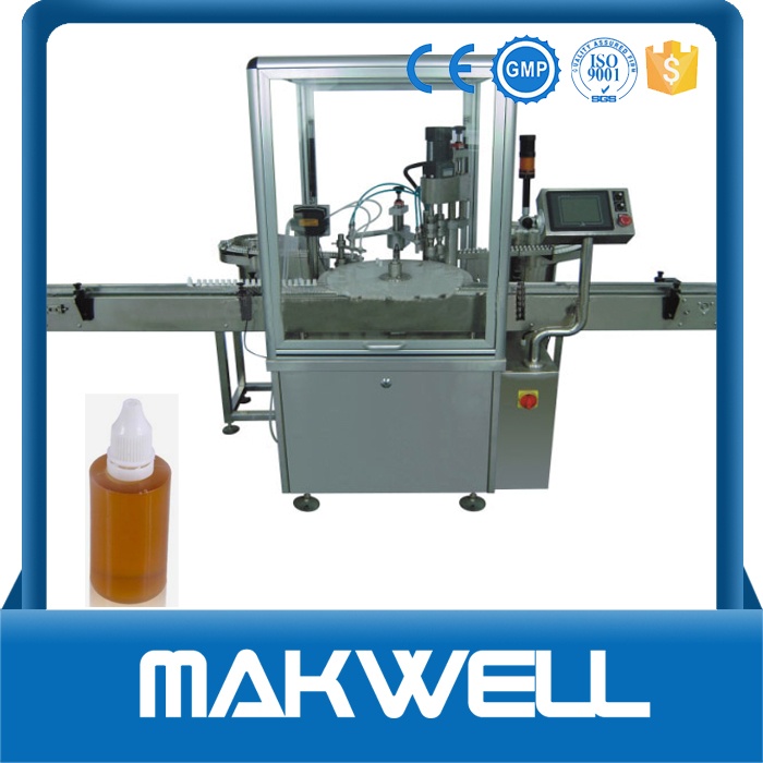eyedrop bottle filling capping machine/electronic cigarette /essential oil filler with high quality
