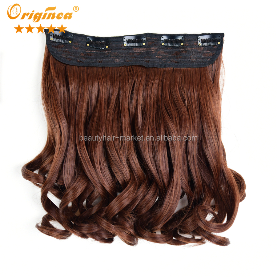 2016 Wholesale synthetic extensions synthetic hair accessories artificial hair piece mix color 30# 33#