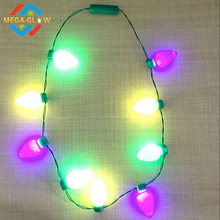Festival/Party Hot Selling Led Bulb Necklace Long With Colorful Bulbs For Mardi Gras