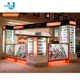 Mobile Accessories Kiosk Promotional Shopping Mall Mobile Cell Phone Accessories Display Kiosk Design For Mobile Accessories
