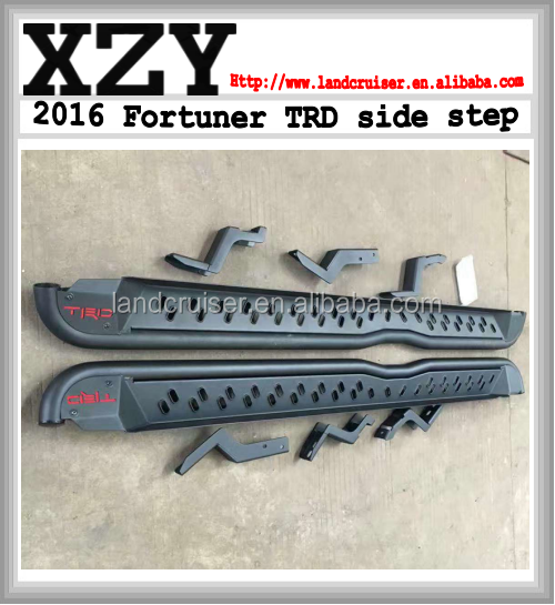 Toyato Fortuner 2016 TRD side step for toyato fortuner accessories fortuner