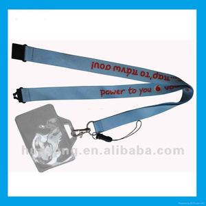 Nylon Neck Lanyard Strap with ID Card Holder