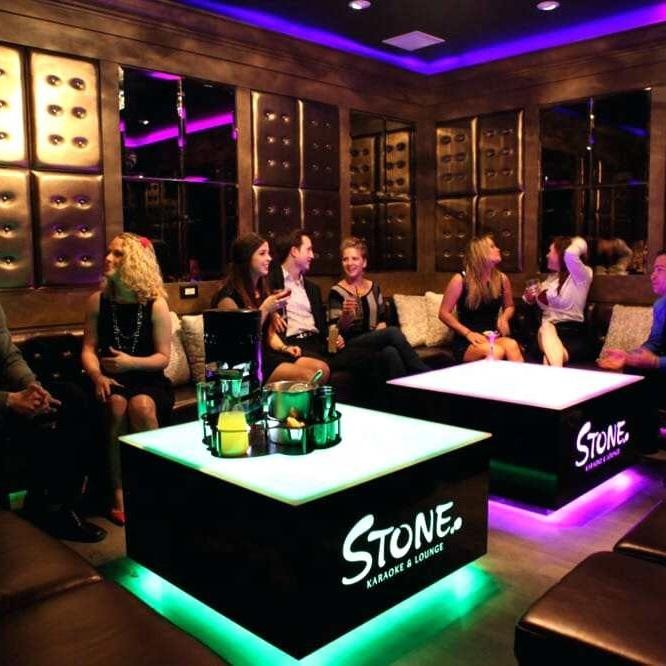 Linhao Cool bar furniture/ nightclub/ KTV/ night club/led cube table wholesale hookah lounge furniture