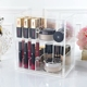transparent acrylic cosmetic organizer makeup box with drawers