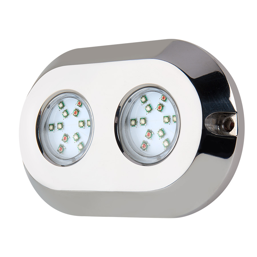 120w Underwater Submersible Light Boat Navigation Marine Yacht Led Accessories Swimming Pool Remote Control Lamp
