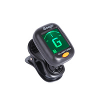 GD-JA22 OEM wholesale cheap factory price universal chormatic mini clip on guitar tuner