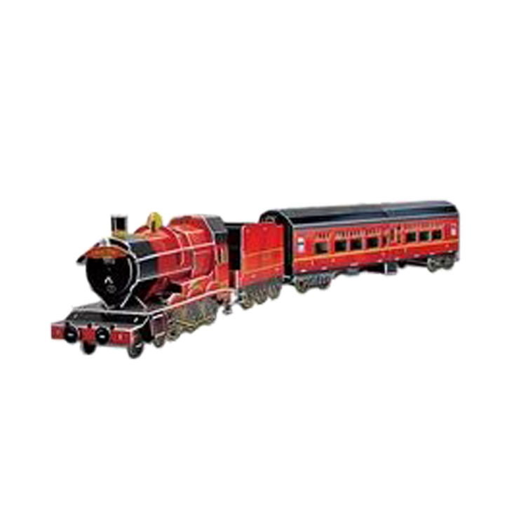 New Product classic train toys model train ho scale toy decoration kid's educational toy 3D JIGSAW PUZZLE wholesale