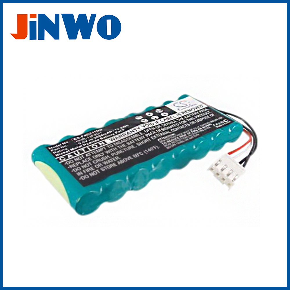9.6v 2000mAh nimh battery pack 8-HRAAFD for Fukuda Denshi ECG Machines FX-2111,FCP-2155