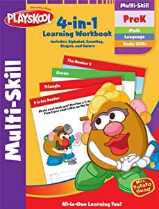 Playskool Pre-Kindergarten Multi Skill Workbook