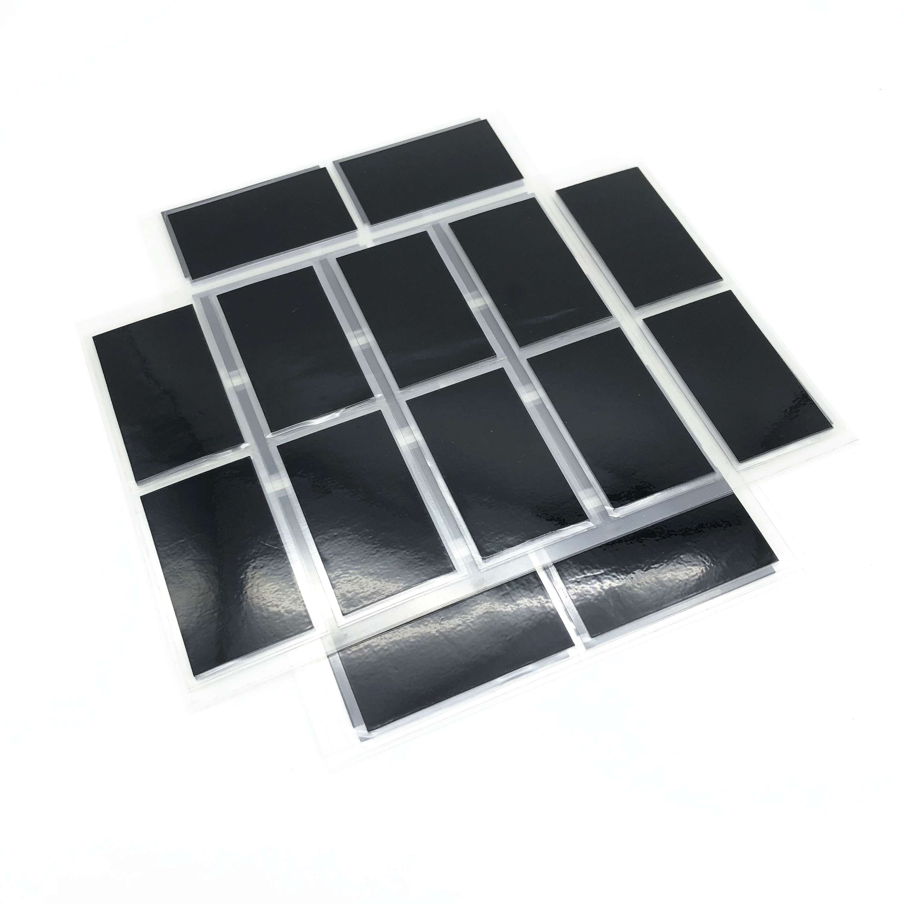 electrically conductive die cut graphite sheet