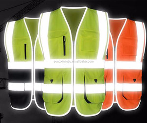 Factory wholesale high visibility uniforms reflective work shirts