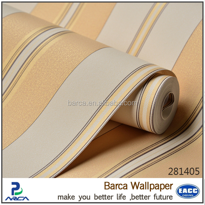 2015 new style wallpaper non-woven striped bathroom wallpaper wallpaper with perfect design