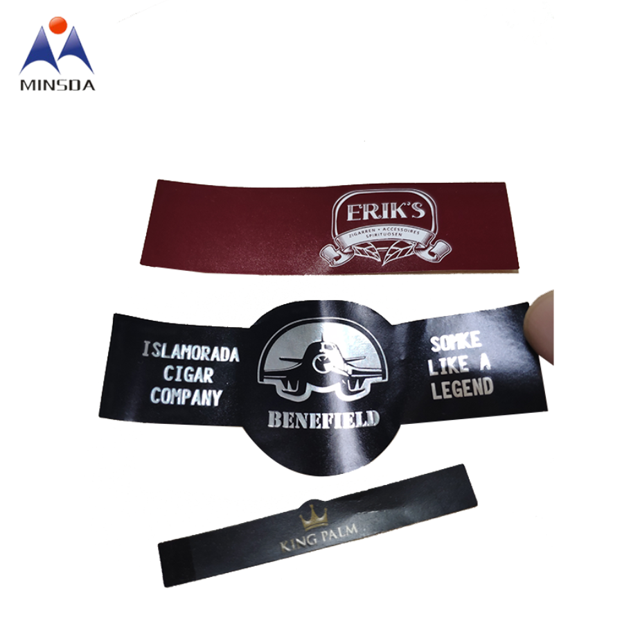 Custom Hot Selling Cigar Packaging Die Cut Embossed Embossing Cigar Ring