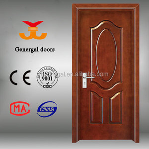 CE Finished Interior room project design carved wooden door