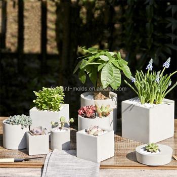 Decorative Concrete Molds Concrete Flower Pot Molds 3d Vase Molds