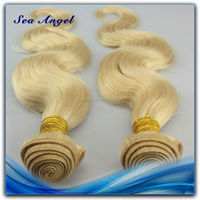 100% Human Hair Clean Weft No Lice 613 Color Weave Human Hair
