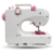 Portable Electric Clothes Fabrics Sewing Machine with Automatic Cutting dual speed