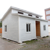 China Easy assemble Modern Small luxury Cheap prefab steel villa houses for sale prices
