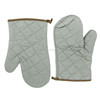 China manufactory oven mitts oven glove cotton cheap kitchen microware heat resistant cooking gloves