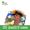 FASHIONABLE case 3D sublimation printing phone case for IPAD2/3