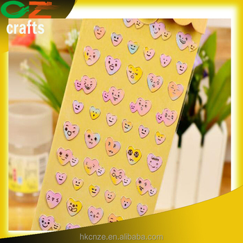 Cheap Loving Heart Pvc Custom Printed Made Stickers Buy Cheap - Custom printed stickers cheap