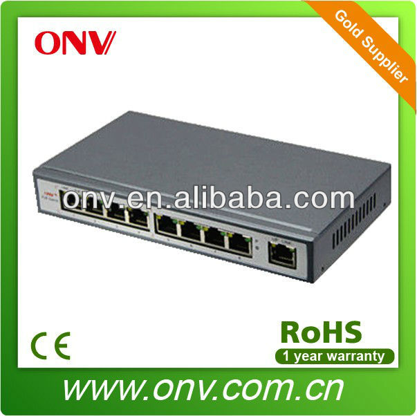 China wholesale Port network POE switch with 4 port poe ports 15.4W