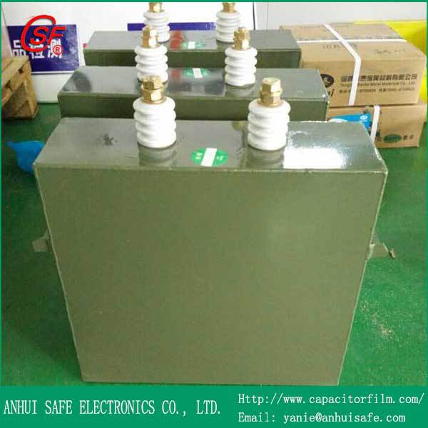 25uF 10KV Capacitor Paper Oil,CH82 High Voltage Paper In Oil Capacitor 25mfd 10KV,High Voltage Pulse Capacitor 25uF 10000V