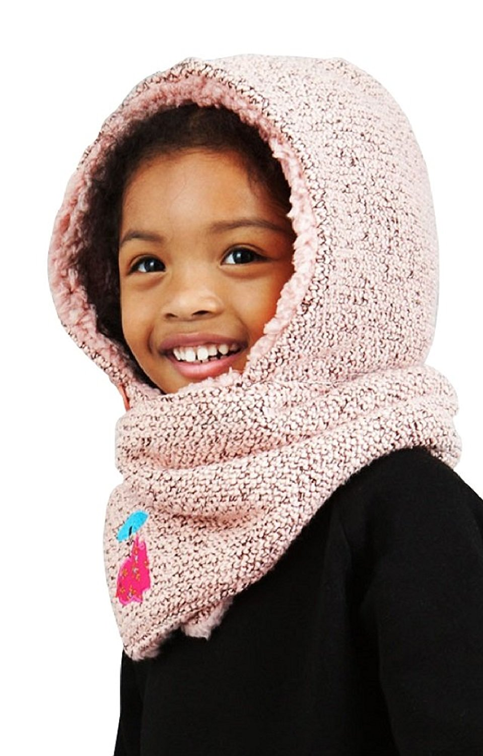 Unique Hooded Neck Warmer Knitting Pattern Sketch - Sewing Pattern ...
