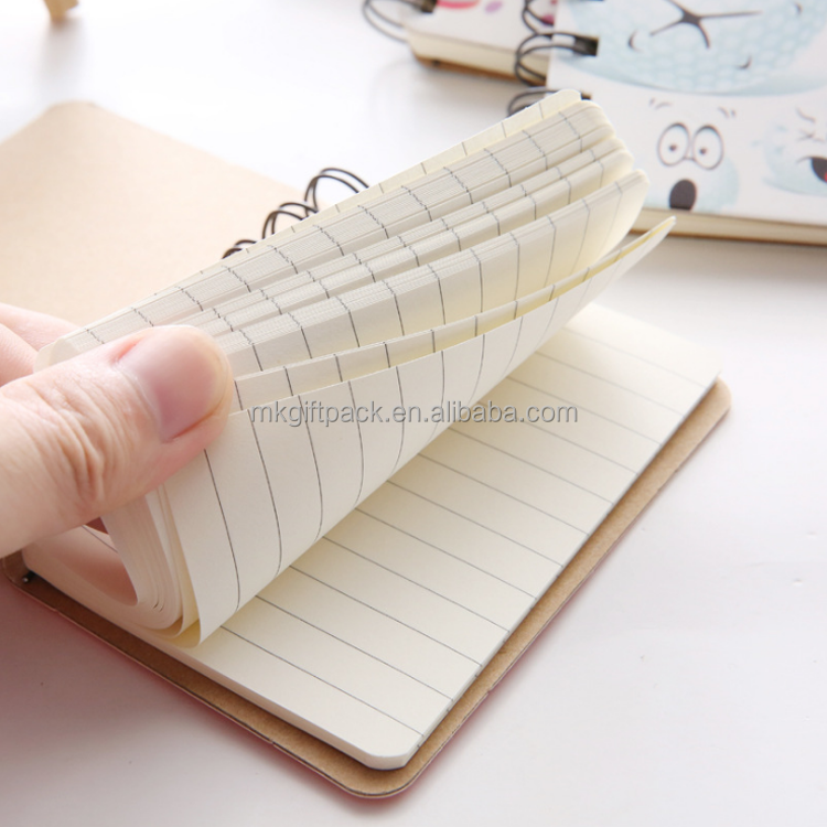 eco friendly custom paper notebook sprial coil binding wholesale paper notebook for students writing