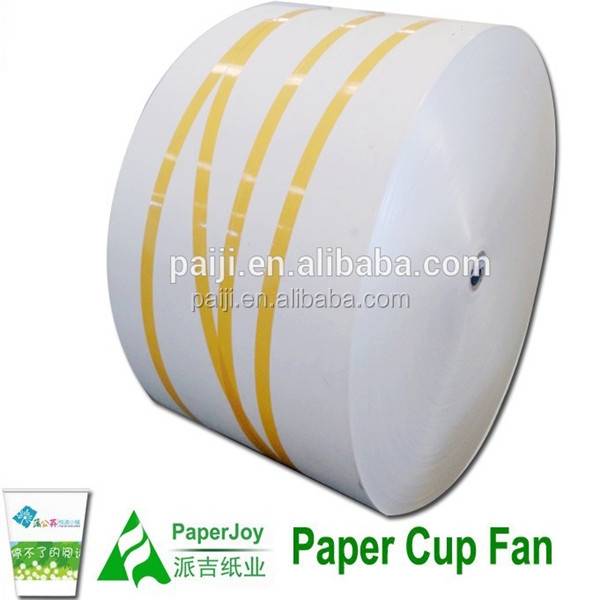 Pe coated paper cup raw material jumbo roll for paper cup sheet