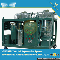 Waste Diesel Engine Oil Recycling and Recovery System