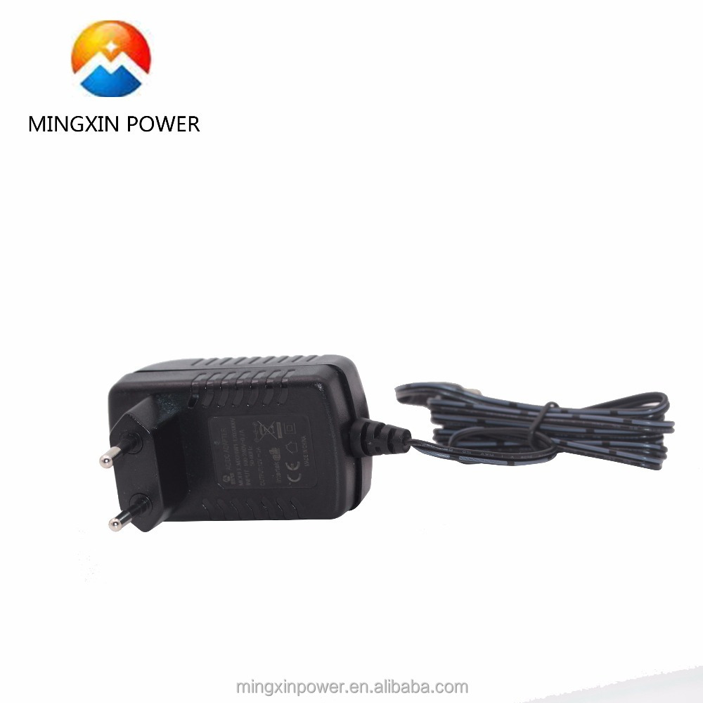 EU UK power adapter 12v 450ma with UL PSE CE certifications