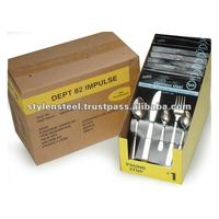 Stainless Steel 99 Cents item / Pallet Display Box / Cutlery / Fork / Spoon