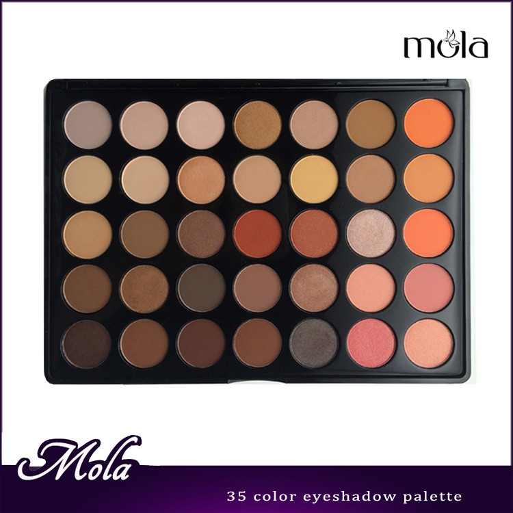 China suppliers professional manufacturer 35 eyeshadow palette eyeshadow palettes private label
