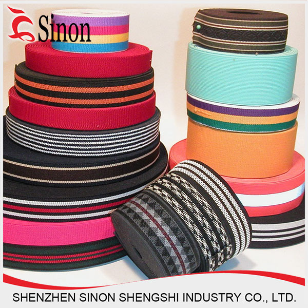 China Factory Hot New Jacquard Woven Tape with Laser Cutting for 2014