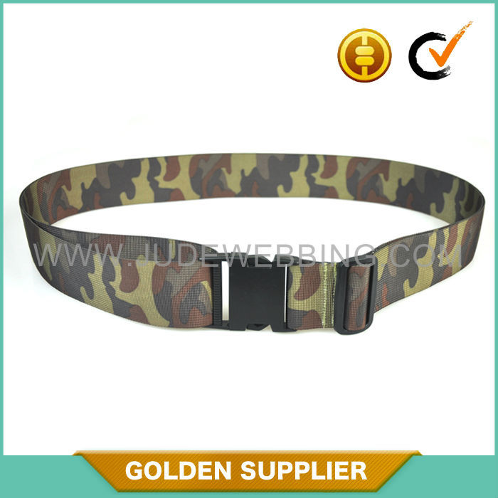 quick release factory custom military uniform canvas belts
