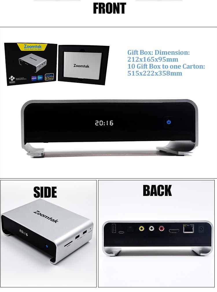 Uplus Amlogic S912 2g/16g Top 10 Albanian Tv Box - Buy