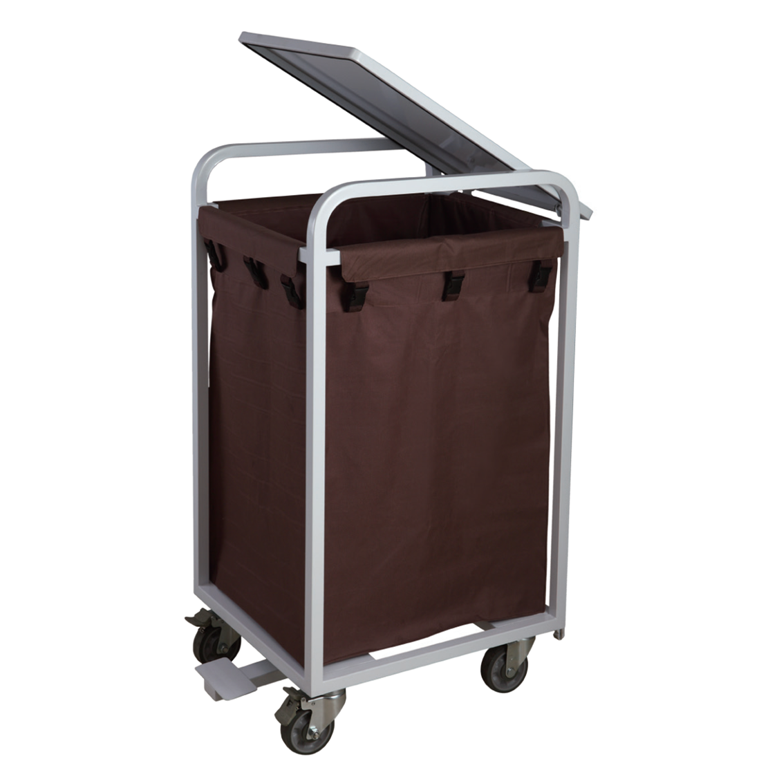 Linen trolley with Lid