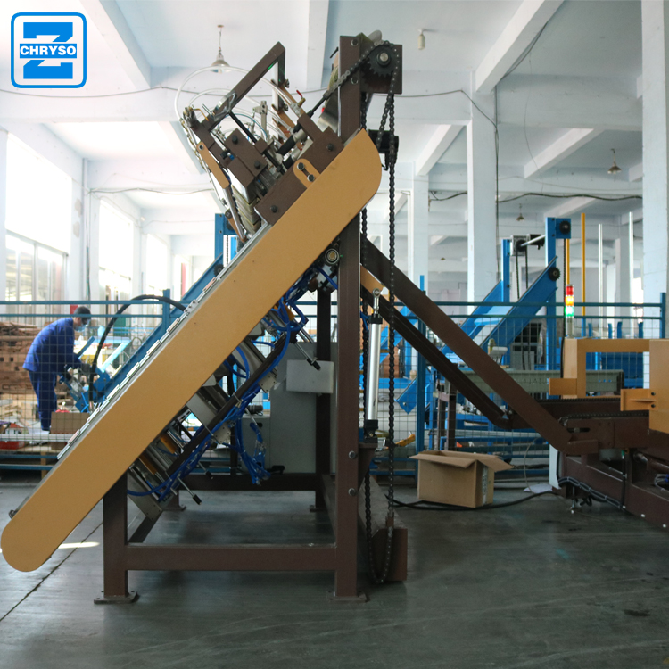 Good quality wood pallet nailing machine for nailing function