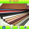 Stretchy pvc suede leather fabric 1.8mm high quality lychee leather