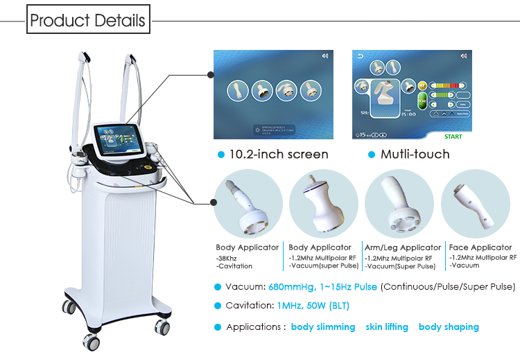 Beijing ADSS velashape slimming machine/cavitation rf vacuum slimming machine