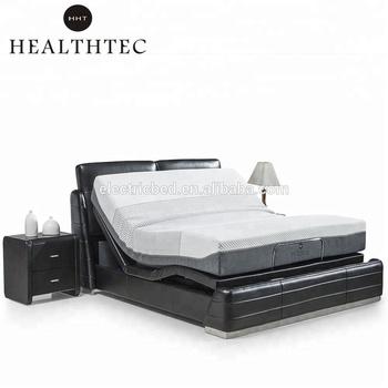 wholesale hot sale electric adjust a sleep adjustable bed mechanism control in korean furniture beds - Adjustable Beds For Sale