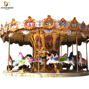 amusement carousel rides kids merry go round for sale manufacturers