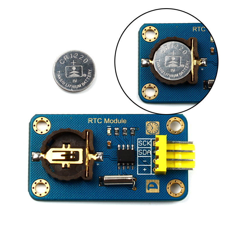 RTC Clock Module DS1307 With Serial IIC For Arduino DIY Digital Game