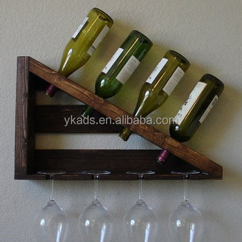 Floor Standing Wooden Wine Rack With Laser Engraving Buy Floor