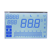 <span class=keywords><strong>OEM</strong></span> Segment type lcd display HTN monochroom lcd display