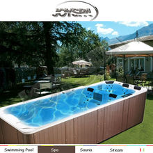 luxury portable swim Spa Pool AMC-5860 with CE APPROVAL spa