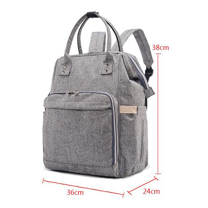 New Design Large Fashion Baby Diaper Bag Backpack