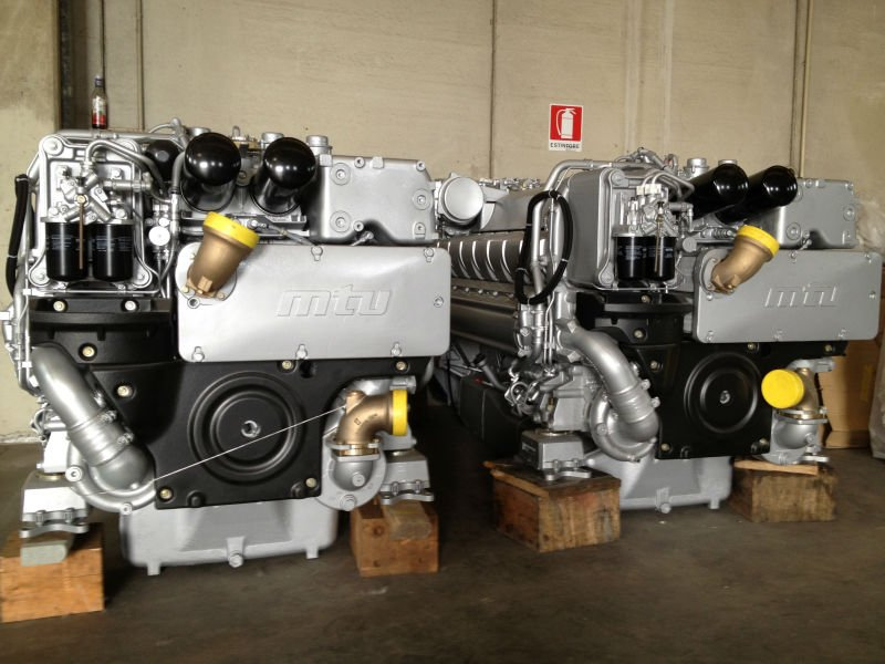 Mtu 16v 2000 M93 Diesel Engines For Yachts Buy Mtu 16v 2000 M93 Product On