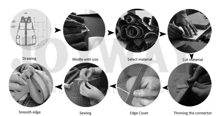 環境にやさしい OEM/ODM 屋外リサイクルキャンバスヴィンテージレトロな革のバックパック本革